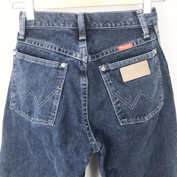 6022d5b5 VTG Wrangler 100% cotton denim High Waist Jean USA.  M_5a4a56c79d20f0f38a043df6